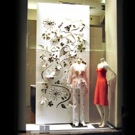 Schaufenster-Dekoration